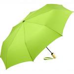 eco friendly Faltschirm mit Bambus Griff und PET Bespannung, Ökobrella, ökologischer Werbeschirm