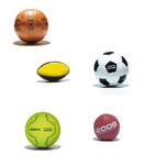 Bälle mit Logo, bedruckte Bälle, Fussball, Handball, Rugby mit Firmenlogo