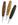 Drehbleistift aus Holz zebrano, Walnuss, Maron